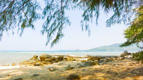 Tropical ocean coast. Thailand. Video 1920x1080 - Tropical ocean coast. Thailand stock footage