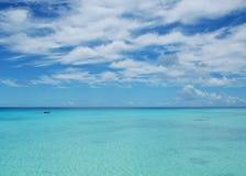 Tropical ocean - French Polynesia Stock Image