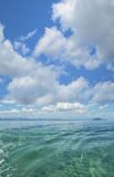 Tropical ocean scene Stock Photos
