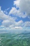 Tropical ocean scene Stock Photos