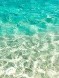 Tropical ocean water Royalty Free Stock Image