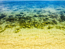 Tropical ocean waters Stock Photos