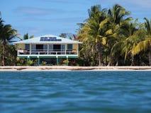 Tropical off-grid house Stock Photos