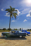 Tropical oldtimer Royalty Free Stock Image