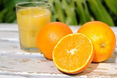 Tropical Orange Juice Royalty Free Stock Photo