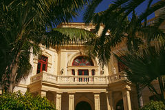 Tropical Palace Stock Photography