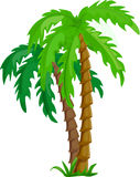 tropical palm trees, vector Stock Images