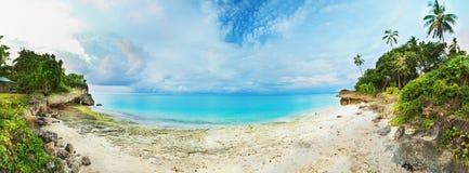 Tropical panorama stock photos