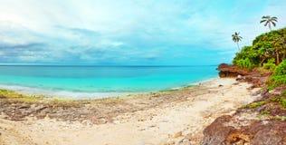 Tropical panorama Royalty Free Stock Image