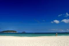 Tropical paradise beach Stock Image