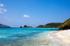 Tropical paradise beach of Okinawa Royalty Free Stock Photo