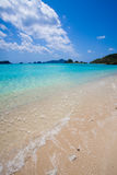 Tropical paradise beach of Okinawa Royalty Free Stock Image
