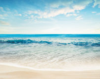 Tropical paradise beach Stock Photos