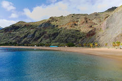 Tropical paradise - beach Teresitas, Tenerife, Canary Islands in Stock Photos