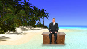 Tropical Paradise Island, Business, Sales Royalty Free Stock Photos