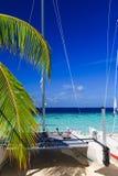 Tropical Paradise at Maldives Stock Image