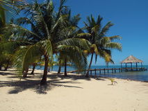 The Tropical Paradise of  Maya Beach, Belize Stock Photos