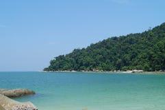 Tropical paradise, Pangkor island, Malaysia stock image