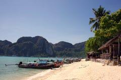 Tropical paradise, Phi-Phi Don Island, Andaman Sea,Thailand Royalty Free Stock Photos