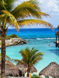 Tropical Paradise, Riveria Maya royalty free stock photo