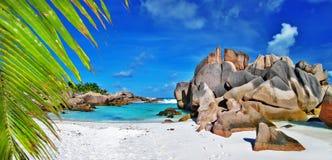 Tropical paradise - Seychelles Royalty Free Stock Photos
