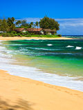 Tropical paradise, Wainiha Beach, Kauai, Hawaii Stock Photo