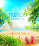Tropical Paradise Royalty Free Stock Image