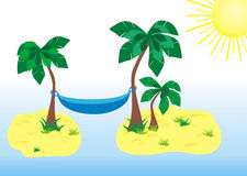 Tropical paradize Stock Images