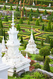Tropical park Nong Nooch Royalty Free Stock Photo
