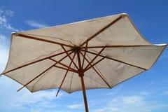 Tropical Party Umbrella. Generic Umbrella seen on Tropical Resorts Stock Photography
