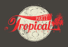 Tropical Party Stock Photo
