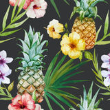 Tropical pattern Stock Photography