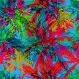 Tropical pattern 36 stock illustration