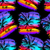Tropical pattern 20 Royalty Free Stock Image