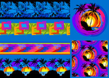 Tropical pattern 37 Royalty Free Stock Image