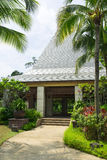 Tropical Pavilion royalty free stock photography