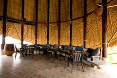 Tropical pavilion Royalty Free Stock Image