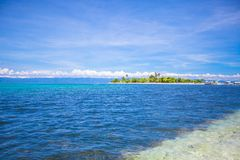 Tropical perfect island Puntod in Philippines Stock Photo
