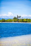 Tropical perfect island Puntod in Philippines Royalty Free Stock Image