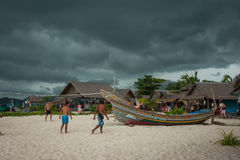 Tropical  Phi Phi island in Land of smiles, Thailand Royalty Free Stock Image