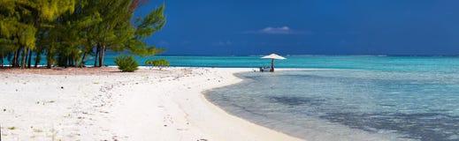 Tropical picnic Royalty Free Stock Photo