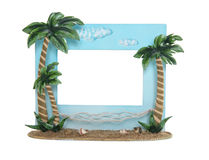 Tropical Picture Frame Royalty Free Stock Photo
