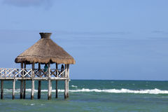 Tropical pier Royalty Free Stock Images