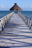 Tropical pier Royalty Free Stock Photography