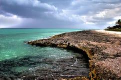 Tropical  place  Cuba Varadero. TROPICAL ISLAND - CUBA,VARADERO,PARADISE Stock Images
