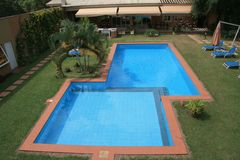 Tropical pool stock images