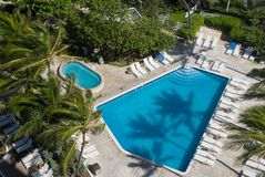 Tropical Pool Stock Photography