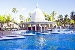 Tropical pool Royalty Free Stock Photography