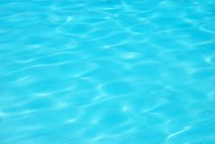Tropical pool water. Blue tropical pool water background Royalty Free Stock Photo
