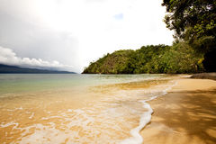 Tropical Private Beach stock photos